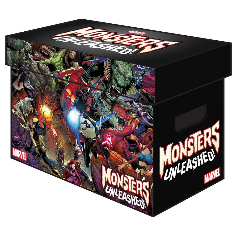 Short Comic Storage Box: Marvel Monsters Unleashed imagine
