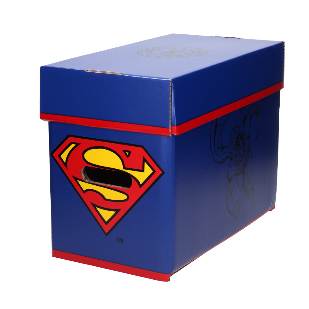 Short Comic Storage Box: DC Comics Superman