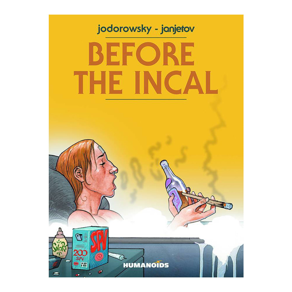 Before The Incal HC