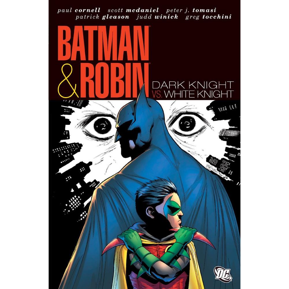 Batman and Robin: White Knight Dark Knight HC