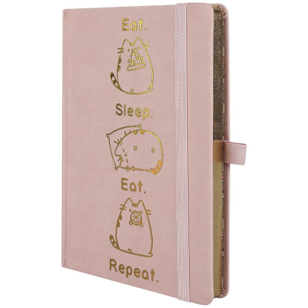 Notebook Premium A5 Pusheen Eat Sleep Eat Repeat