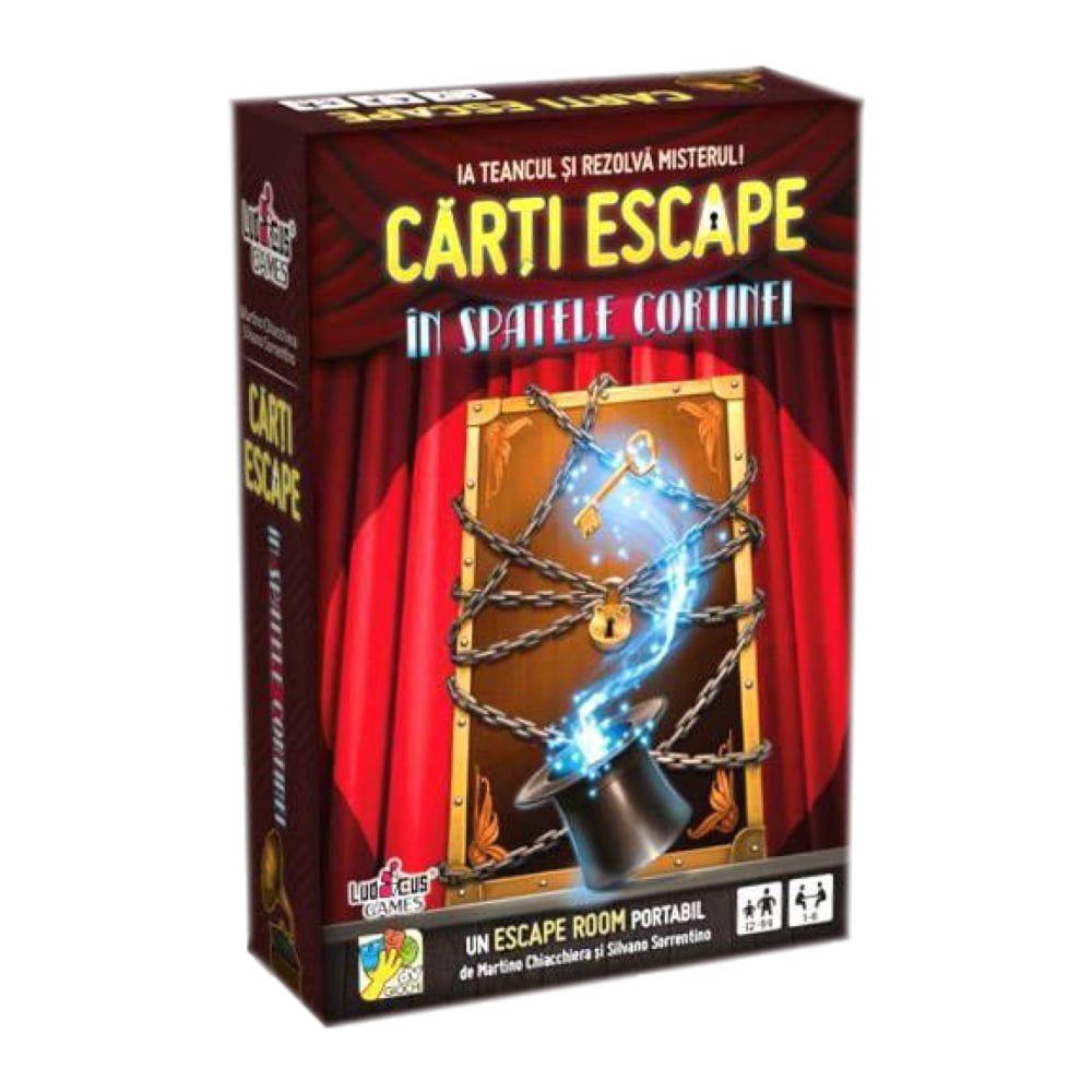 Joc Carti Escape In spatele cortinei