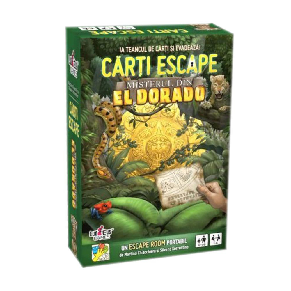 Joc Carti Escape Misterul din El Dorado