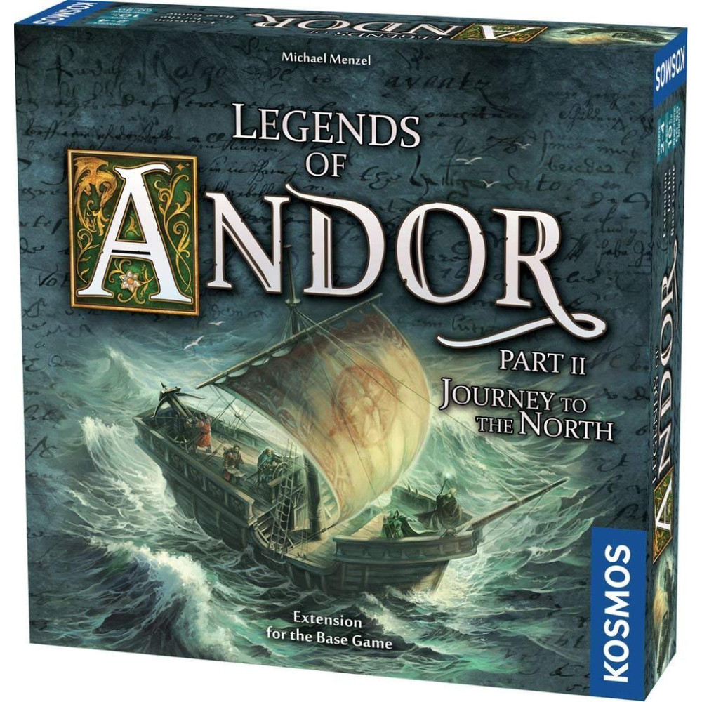 Expansiune Legends of Andor Journey to the North