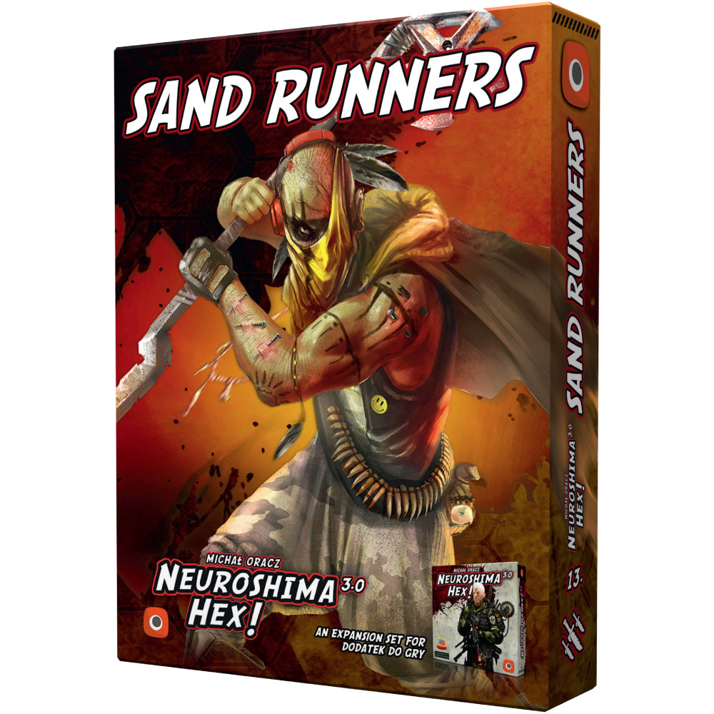 Expansiune Neuroshima Hex! Sand Runners
