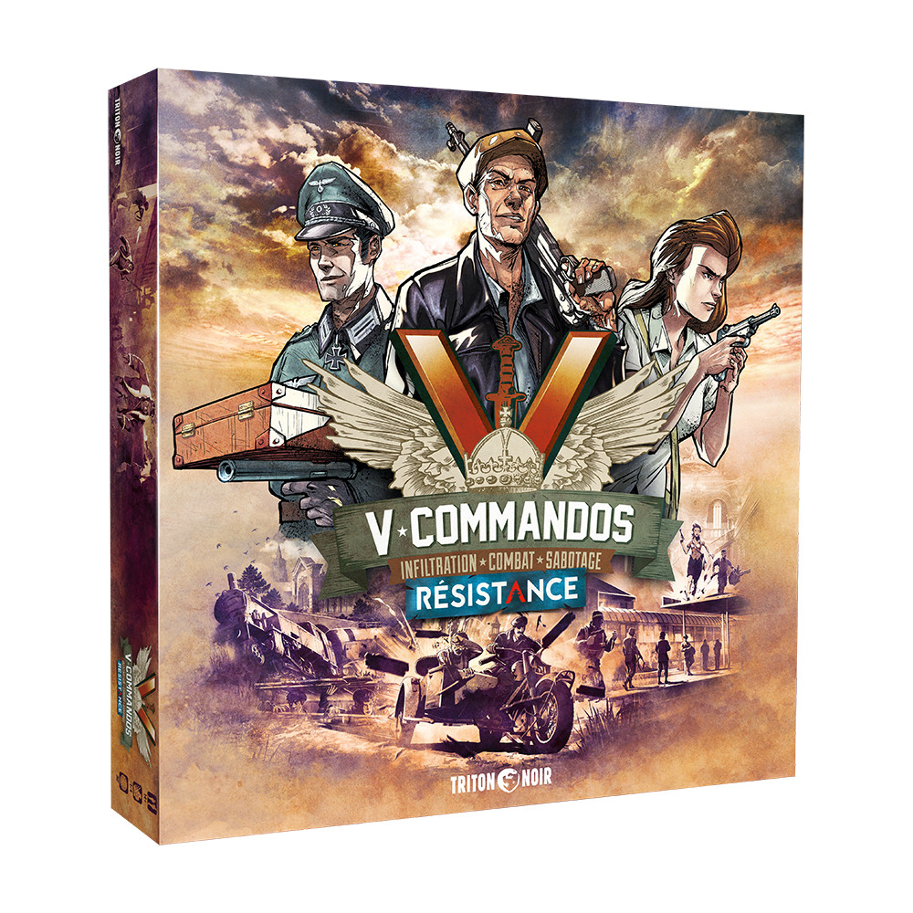 Expansiune V-Commandos Secret Resistance