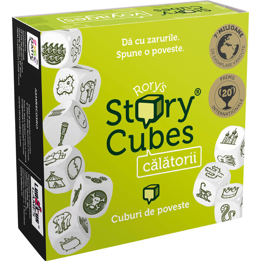 Joc Rory's Story Cubes Voyages Versiune in Limba Romana