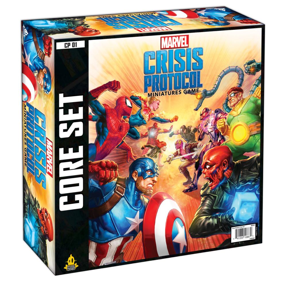 Joc Miniaturi Marvel Crisis Protocol Core Set