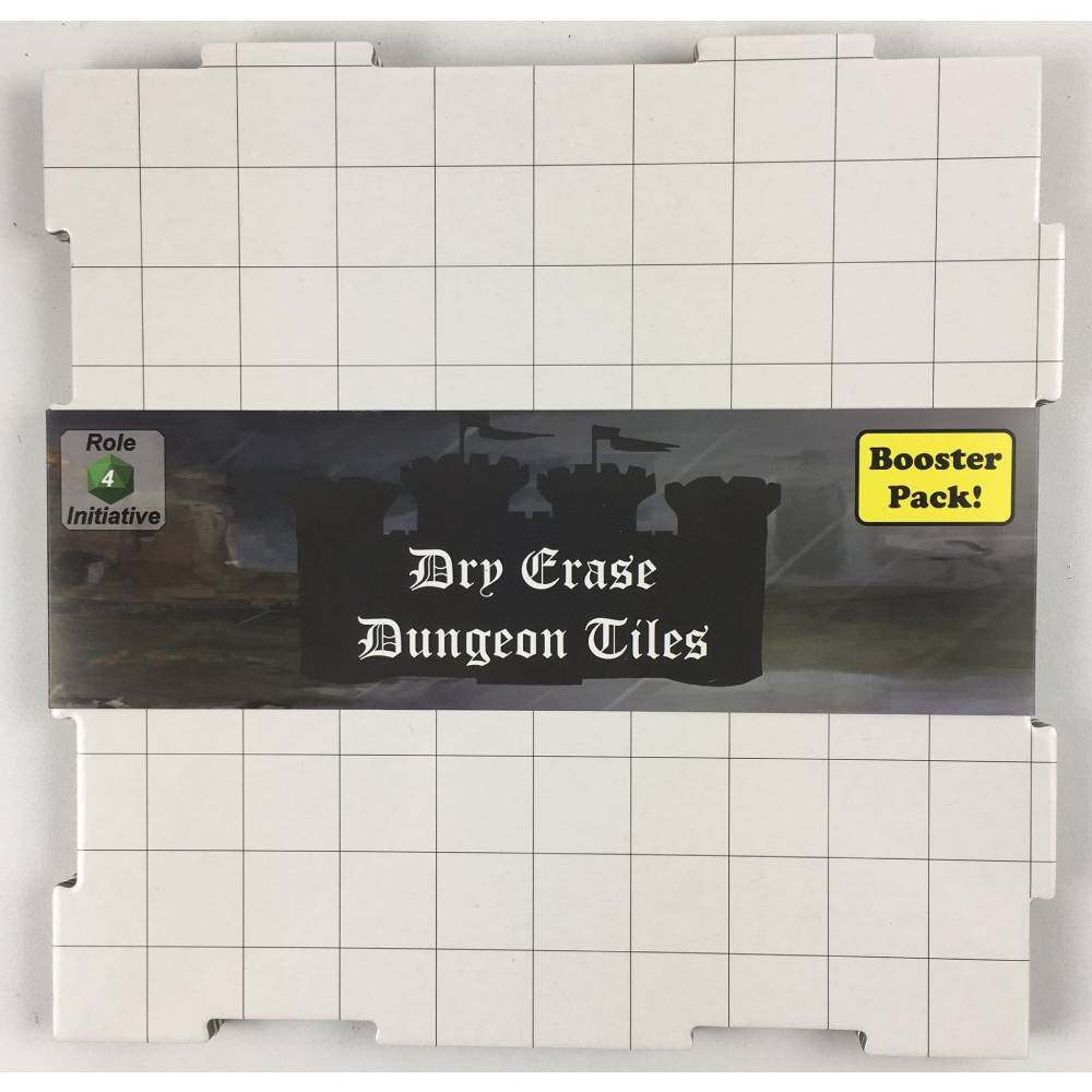 Accesorii Dry Erase Dungeon Tiles White Square Booster Pack imagine