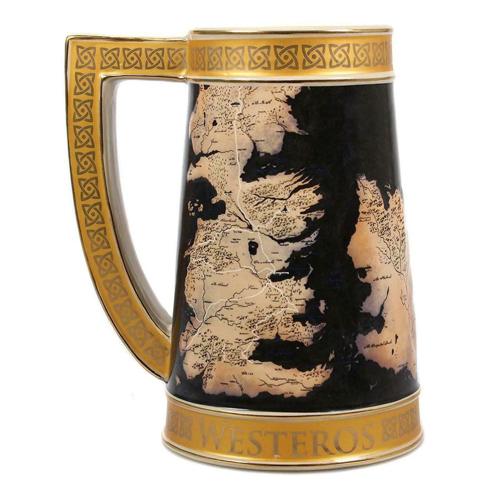 Halba de Colectie Game of Thrones Harta din Westeros