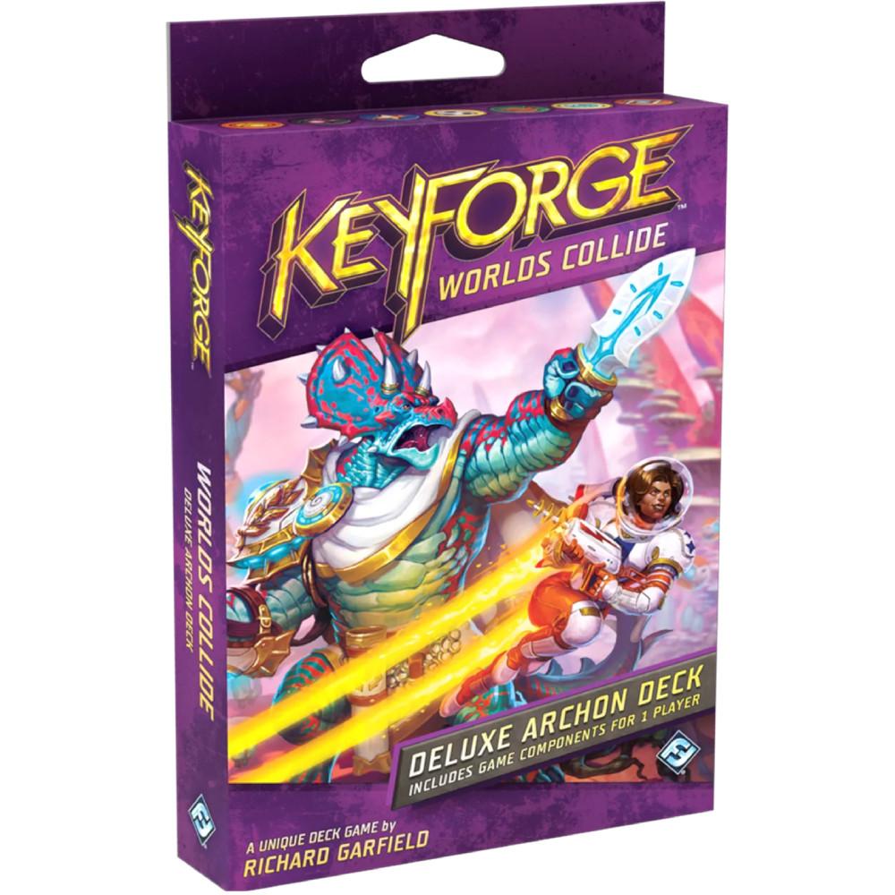 Expansiune KeyForge Worlds Collide Deluxe Deck