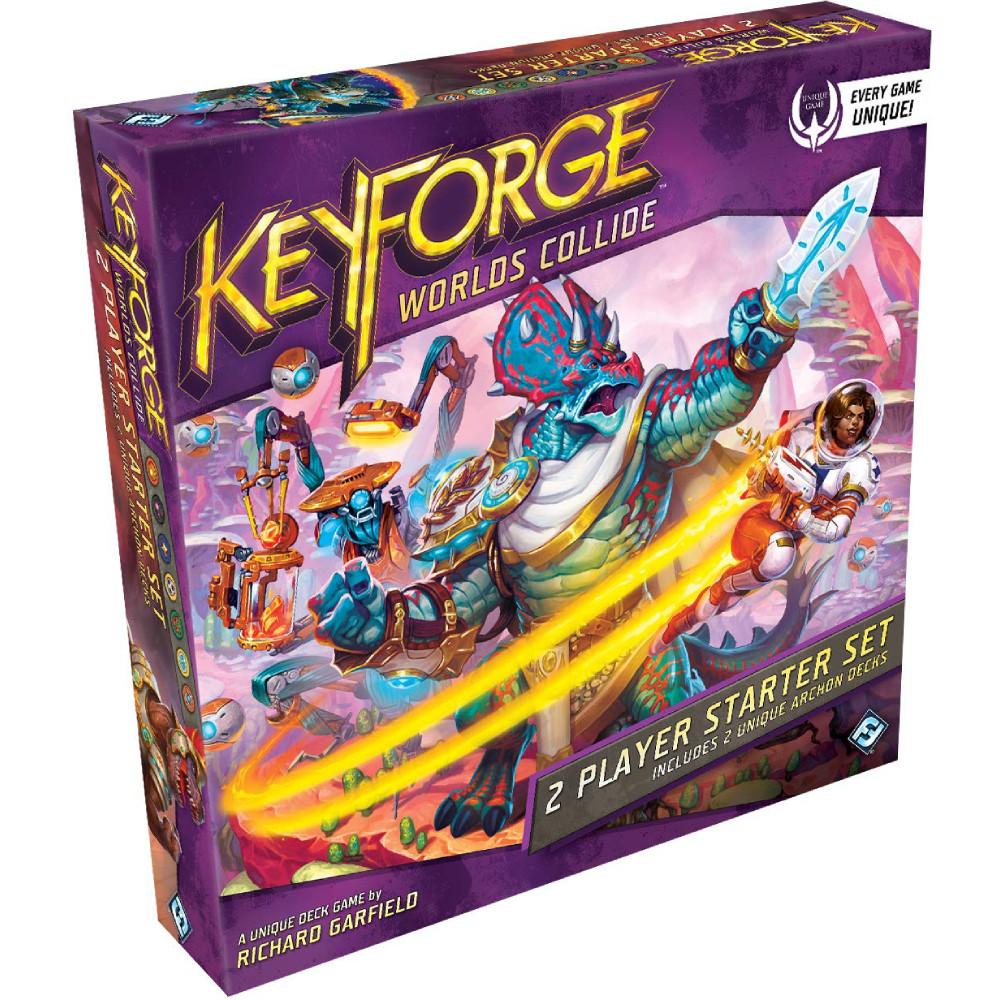 Joc KeyForge Worlds Collide Starter Set 2 Jucatori