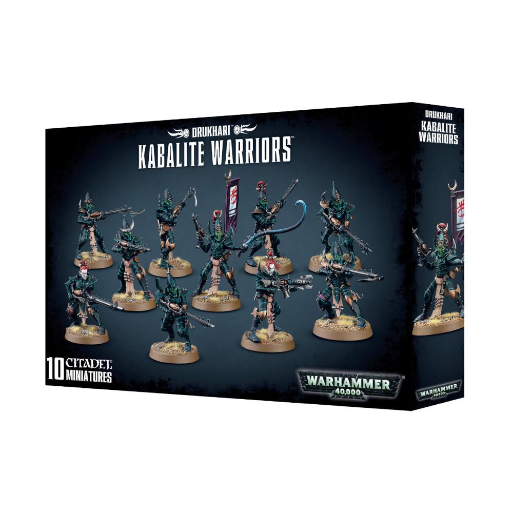 Expansiune Warhammer Drukhari Kabalite Warriors imagine