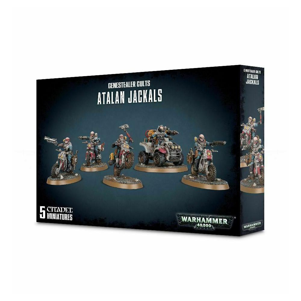Expansiune Warhammer Genestealer Cults Atalan Jackals