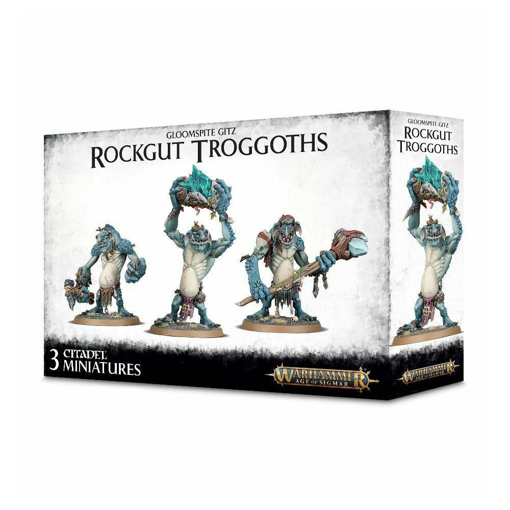 Expansiune Warhammer Gloomspite Gitz Rockgut Troggoths