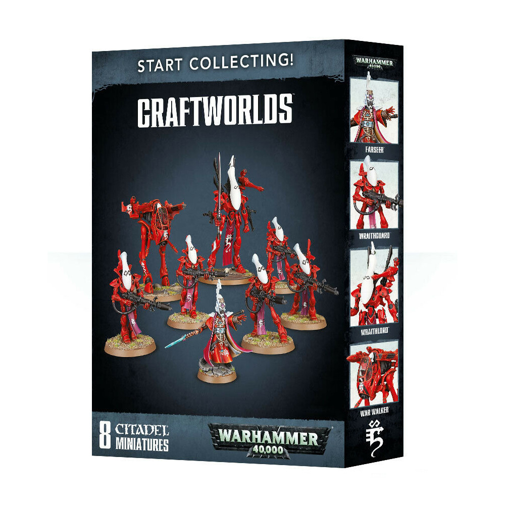 Expansiune Warhammer Start Collecting Craftworlds