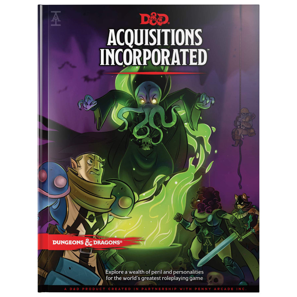Ghid Dungeons & Dragons Acquisitions Incorporated