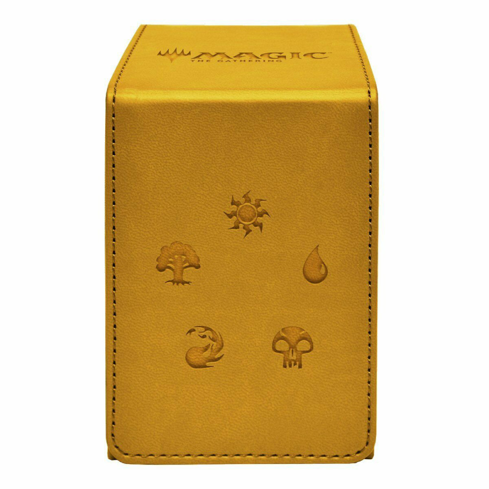 Cutie Depozitare Ultra PRO Alcove Flip Box Gold for Magic