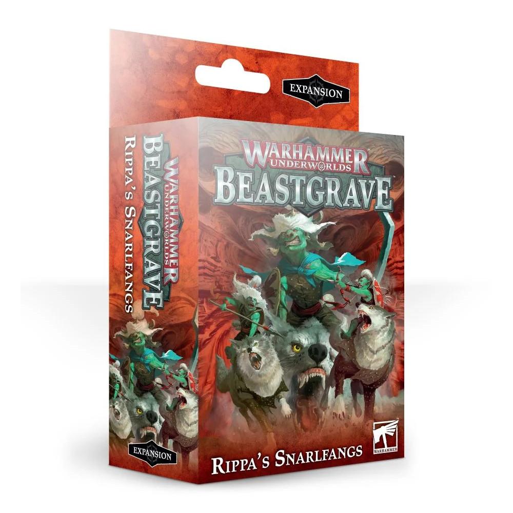 Expansiune Warhammer Underworlds Beastgrave Rippa's Snarlfangs
