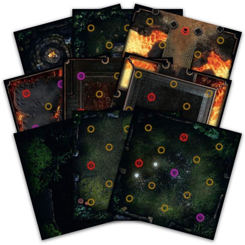 Expansiune Dark Souls Darkroot Basin & Iron Keep Tile Set