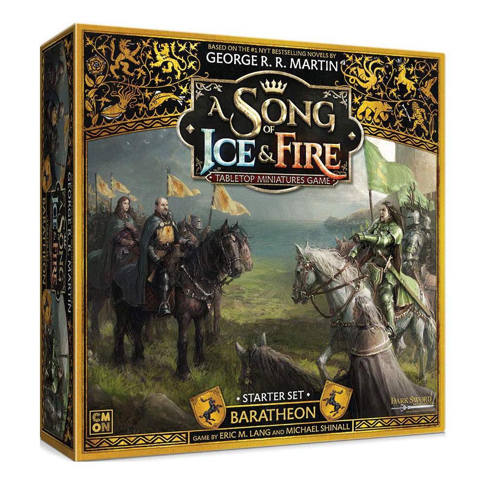 Joc A Song Of Ice and Fire Baratheon Starter Set