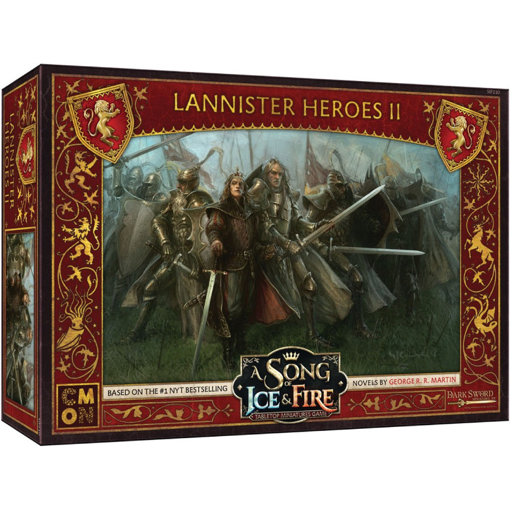 Expansiune A Song Of Ice and Fire Lannister Heroes Box 2