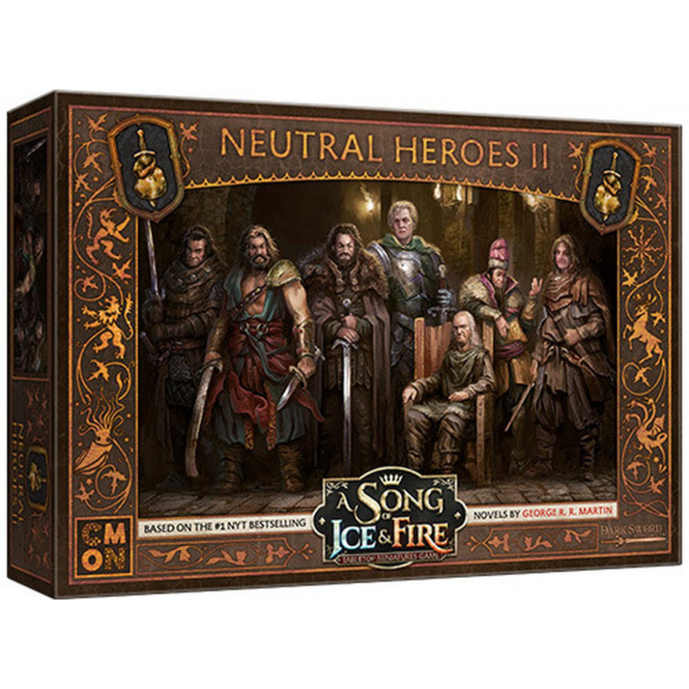 Expansiune A Song Of Ice and Fire Neutral Heroes Box 2