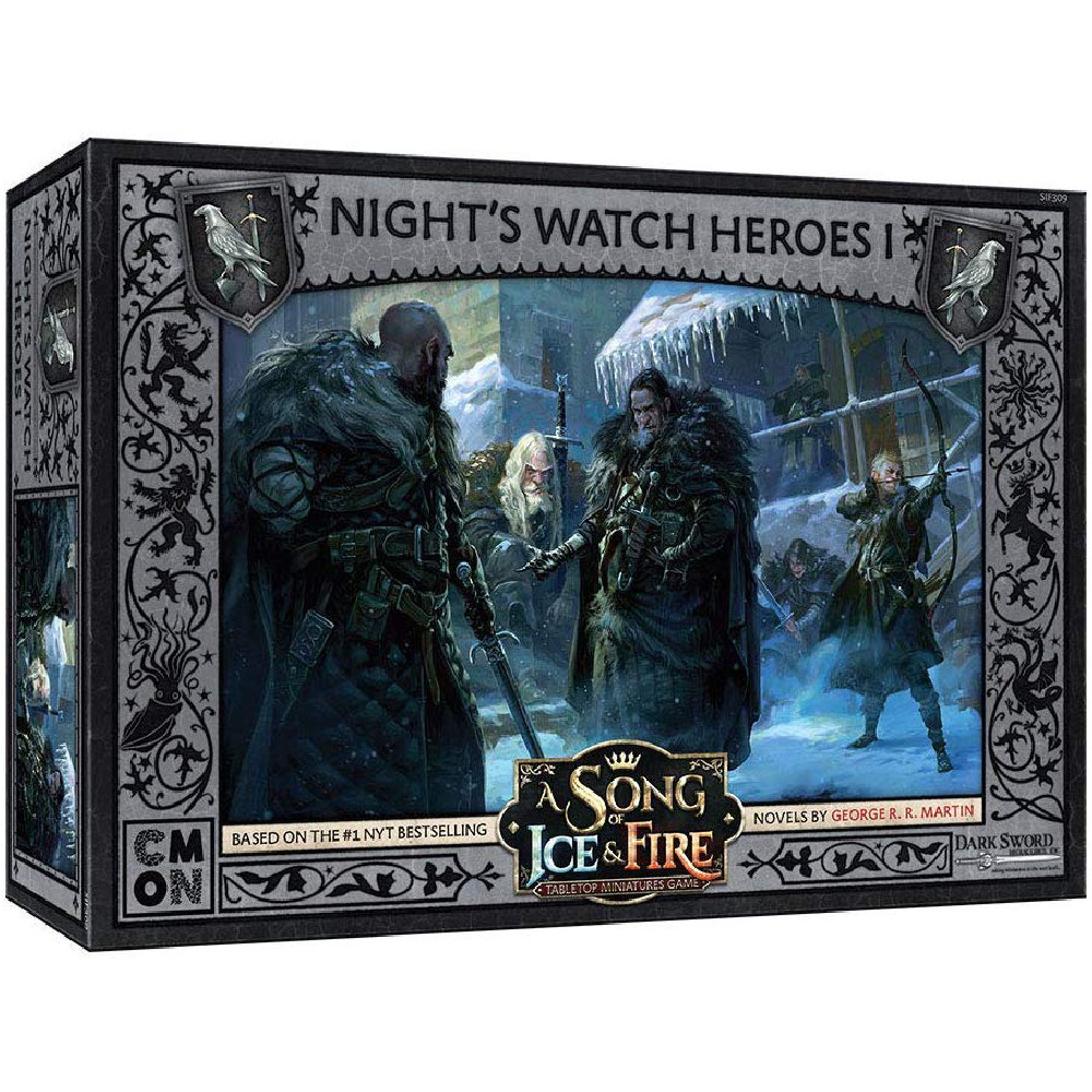 Expansiune A Song Of Ice and Fire Night's Watch Heroes Box 1