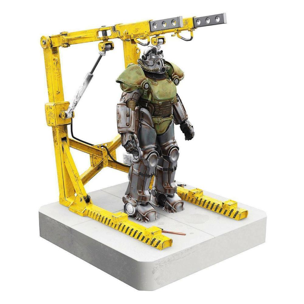 Figurina USB 4 Sloturi Fallout T-51 Power Armor 28 cm imagine