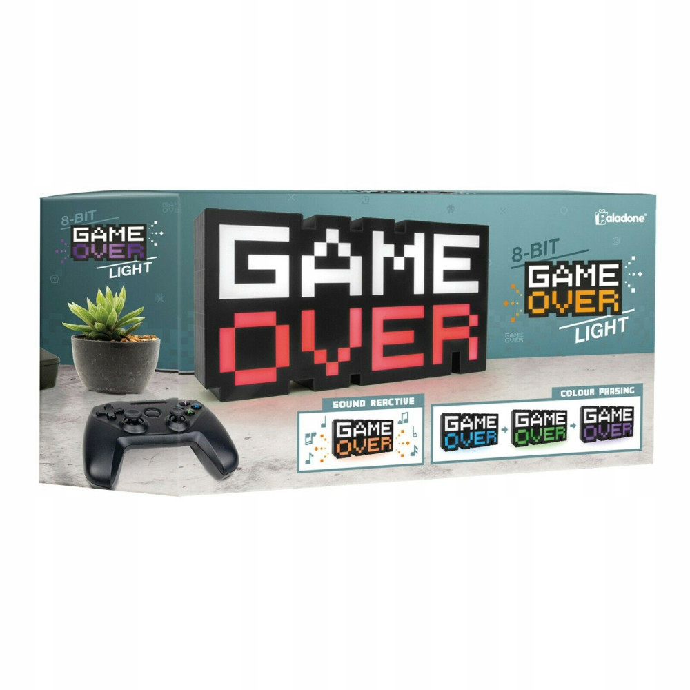 Lampa cu Sunet Game Over 8-BIT 30 cm imagine