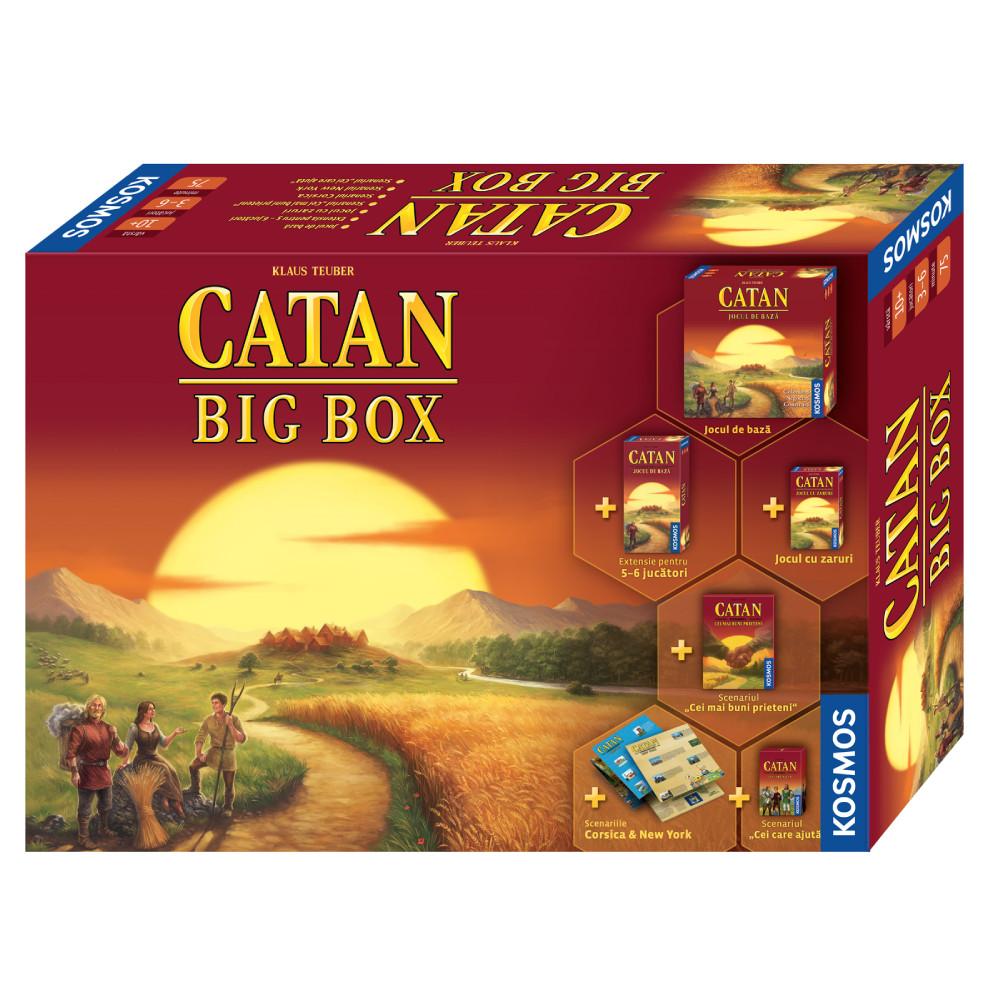 Joc Catan Big Box Editia 2019