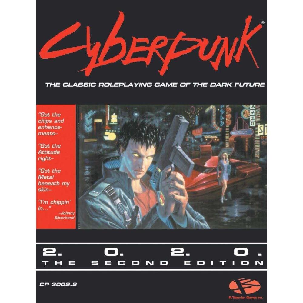 Ghid Cyberpunk 2020 RPG Core Rulebook