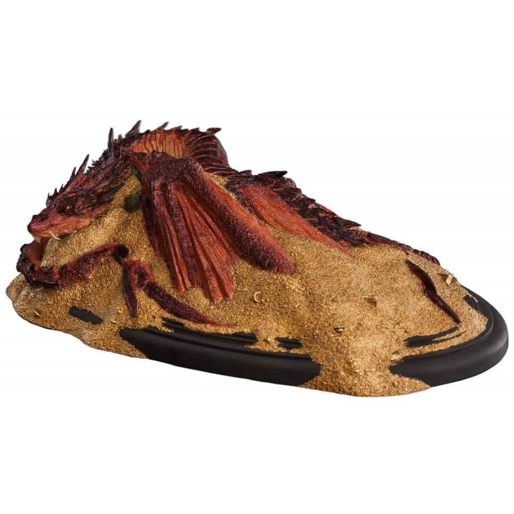 Figurina The Hobbit The Desolation of Smaug King Under The Mountain Smaug 8 cm