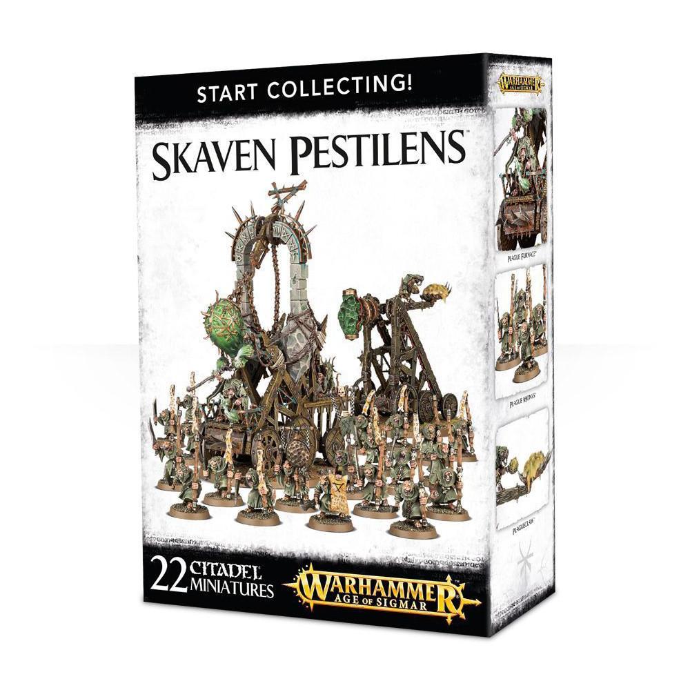 Expansiune Warhammer Start Collecting Skaven Pestilens
