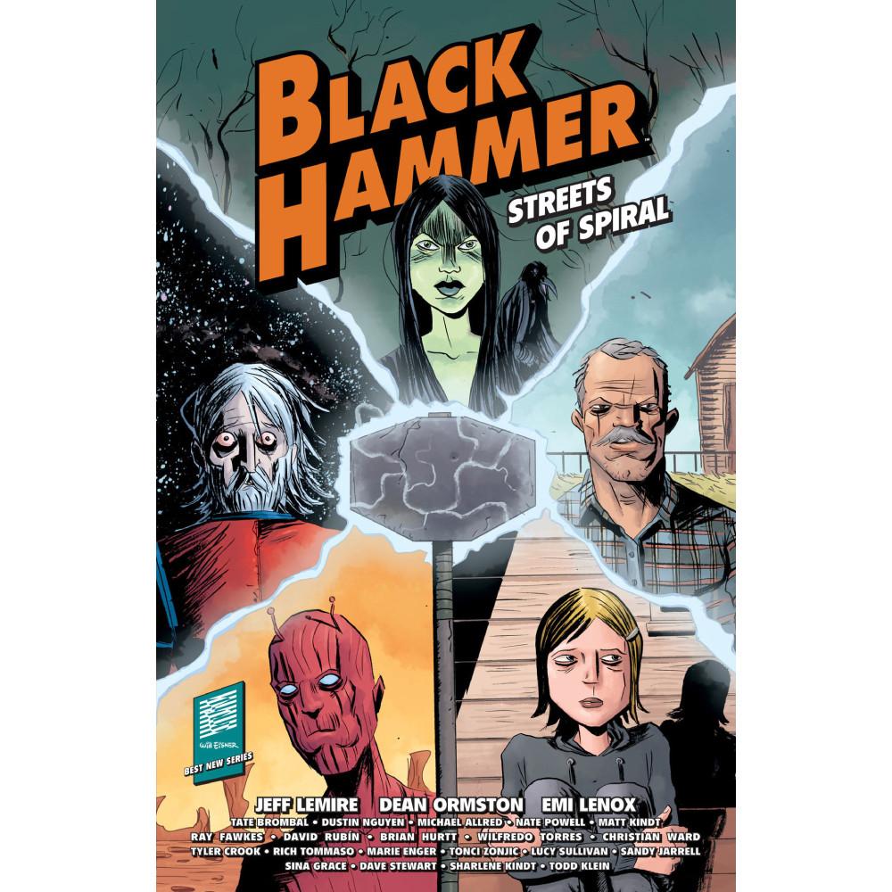 Black Hammer Streets of Spiral TP