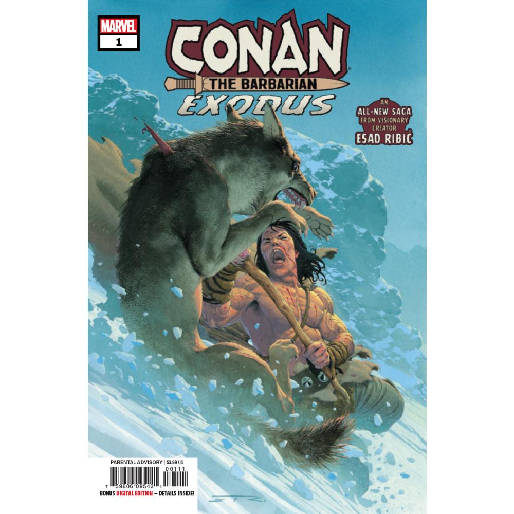 Conan The Barbarian Exodus 01