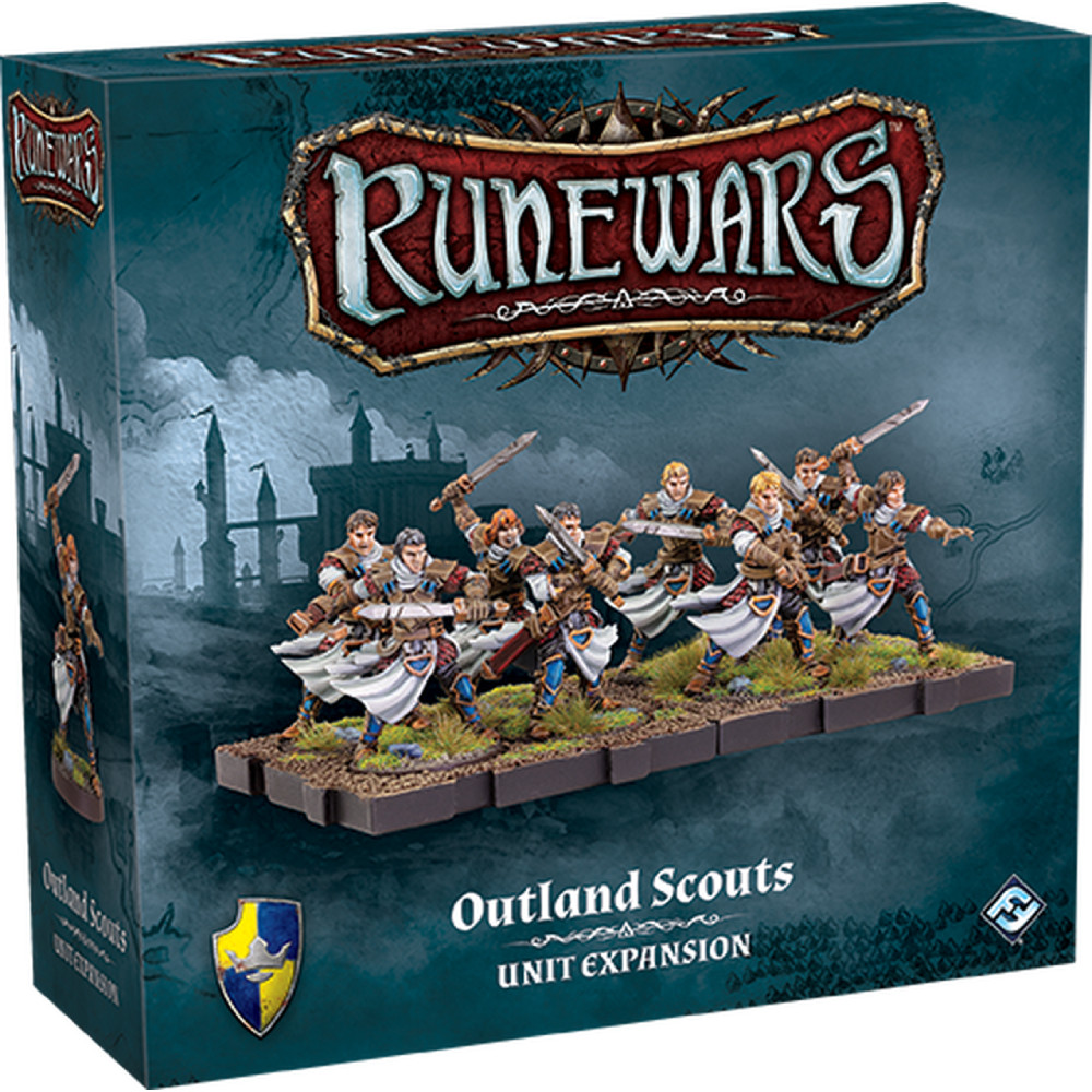 Expansiune Runewars Miniatures Game Outland Scouts
