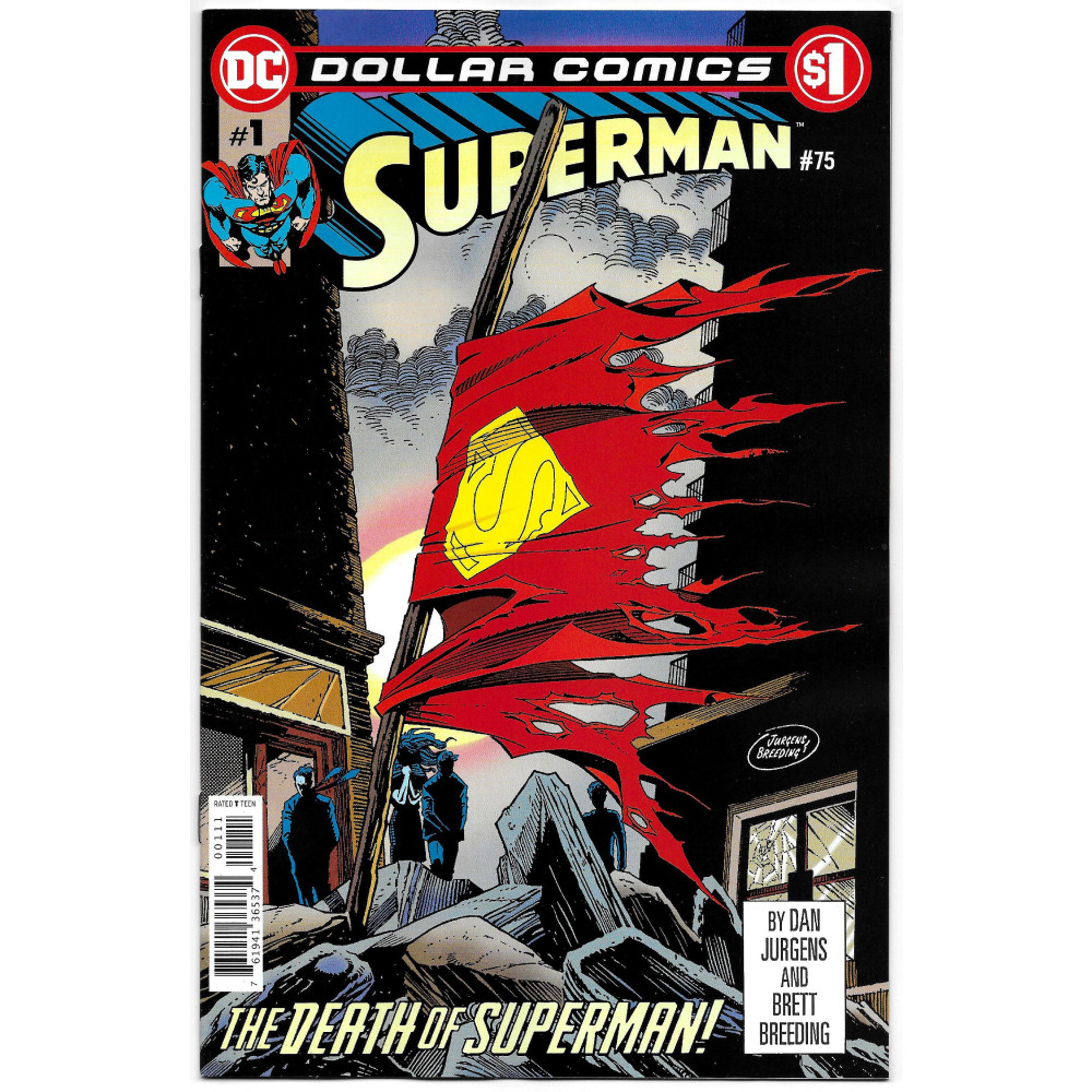 Dollar Comics Superman 75 imagine