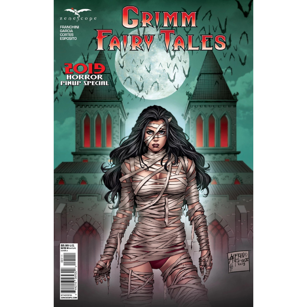 Grimm Fairy Tales Presents 2019 Horror Pinup One Shot