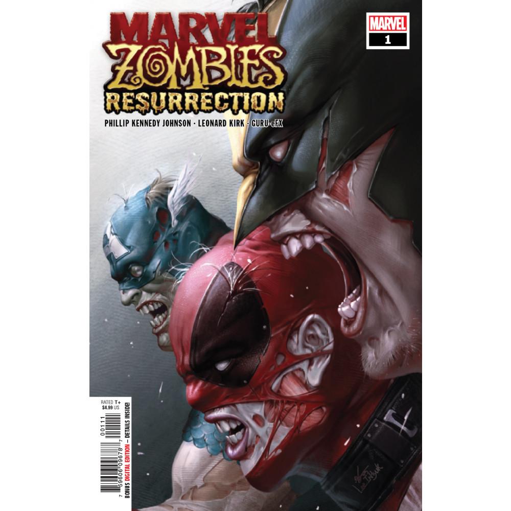 Marvel Zombies Resurrection 01