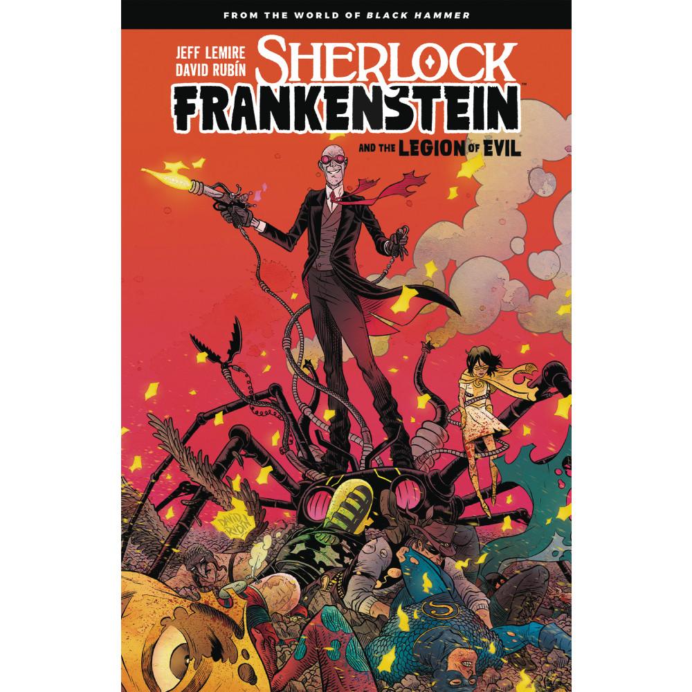 Sherlock Frankenstein Legion of Evil from Black Hammer TP