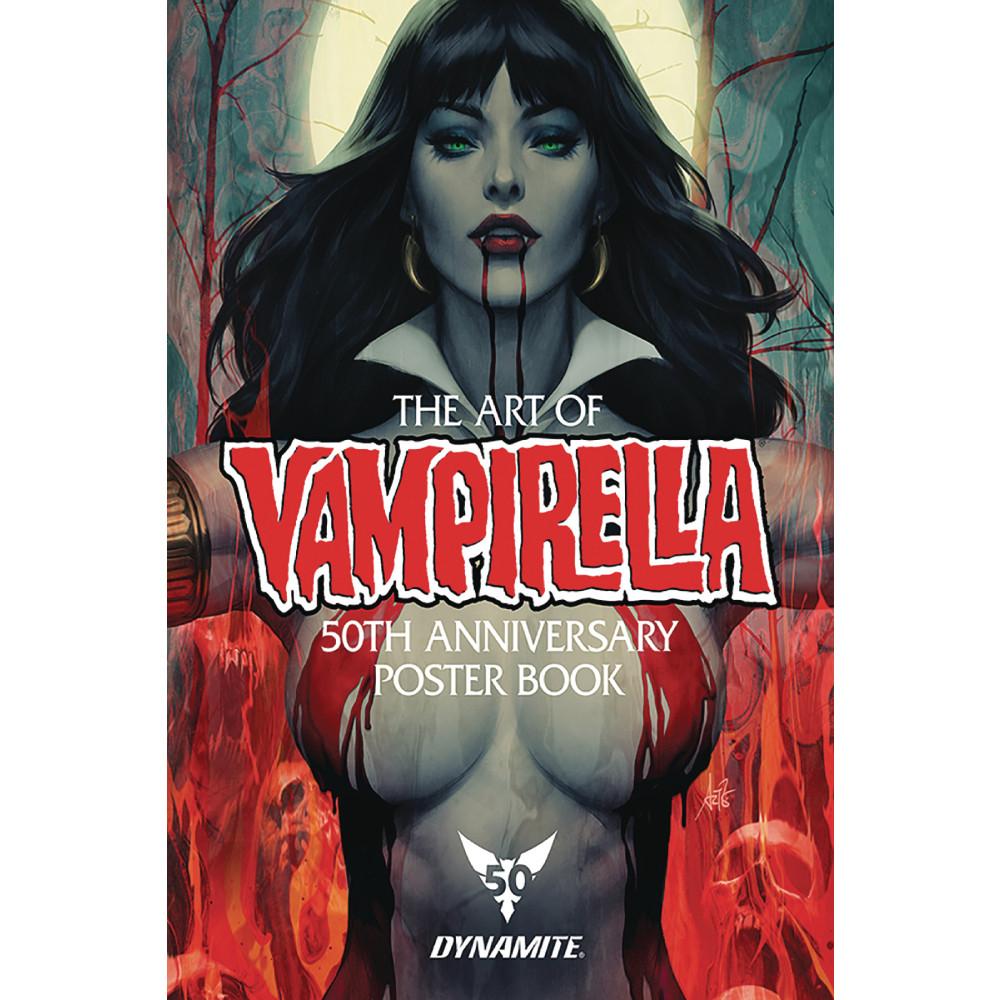 Vampirella 50th Anniversary Poster Collection SC