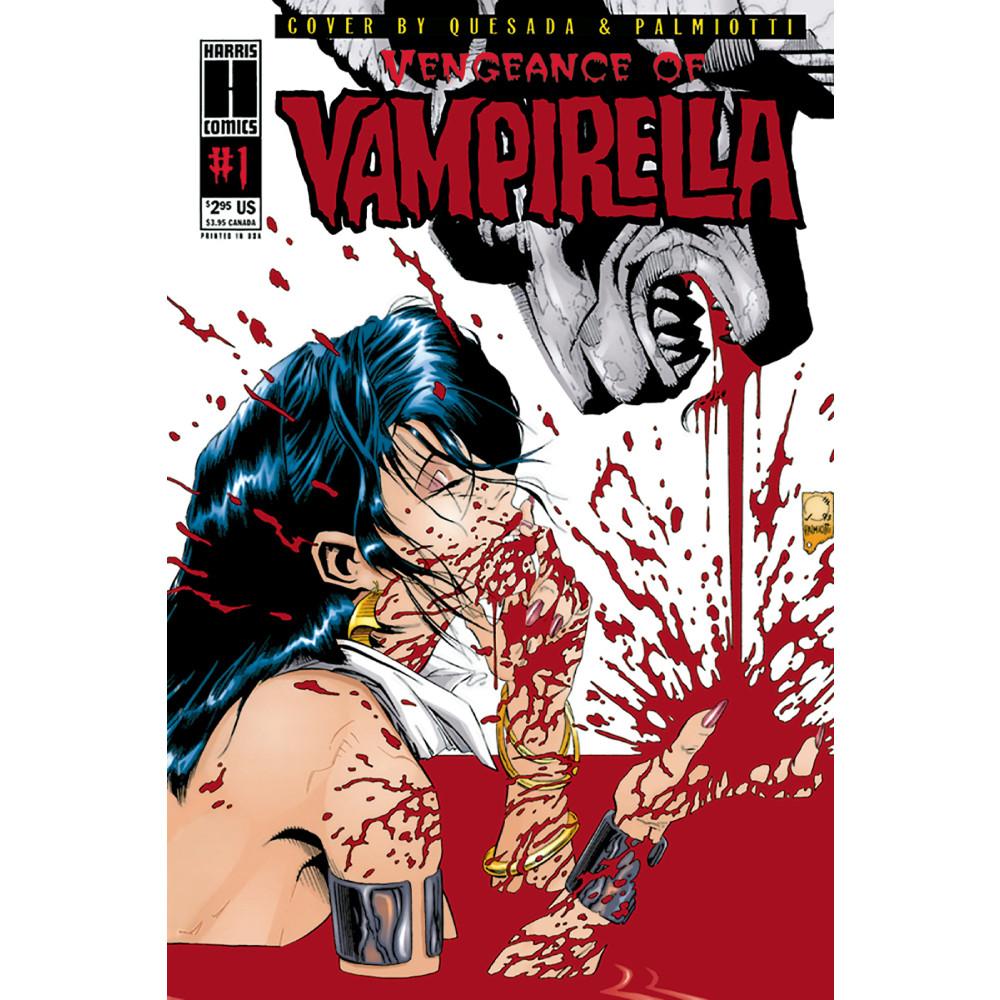 Vengeance of Vampirella 1994 01 Limited Replica Edition imagine