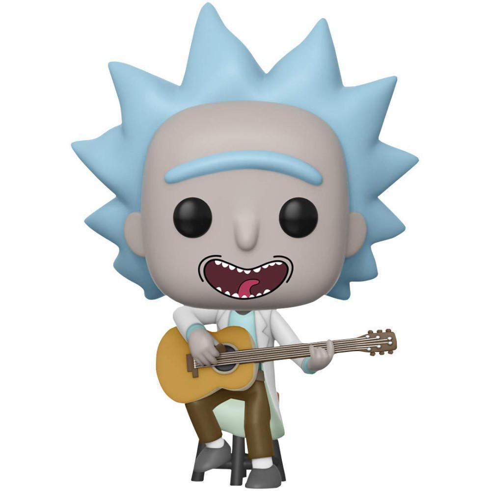 Figurina Funko Pop Rick and Morty Tiny Rick cu Chitara Exclusiv imagine