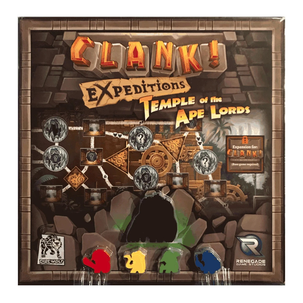 Expansiune Clank! Temple of the Ape Lords