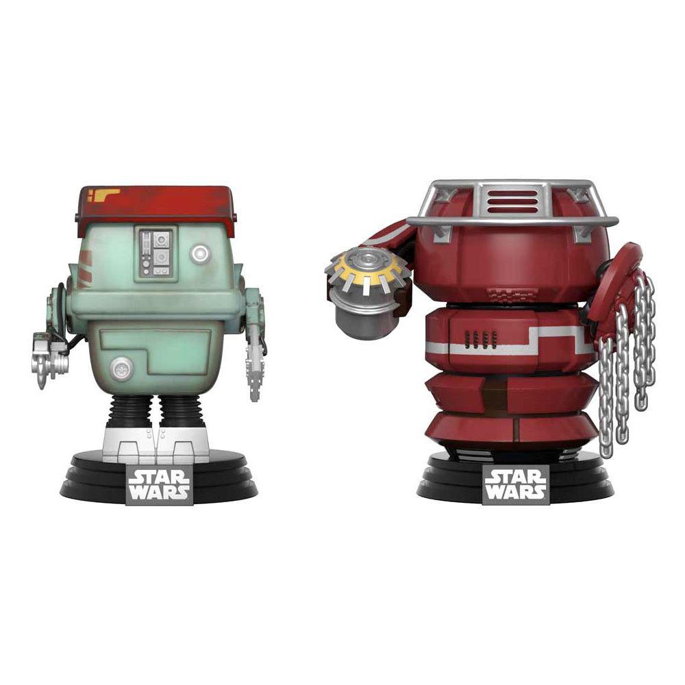 Figurina Funko Pop Star Wars Solo W1 Fight Droids (Exclusiv)