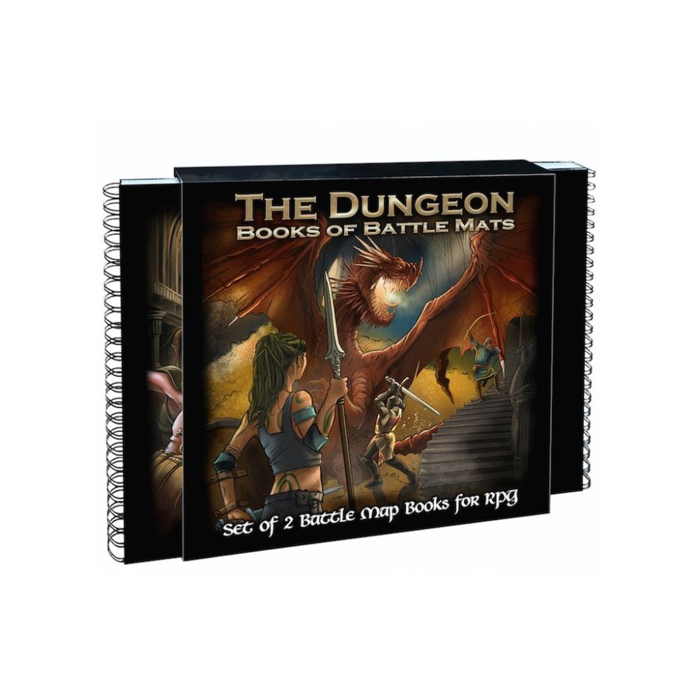 Set 2 Carti si Battle Mats Dungeon