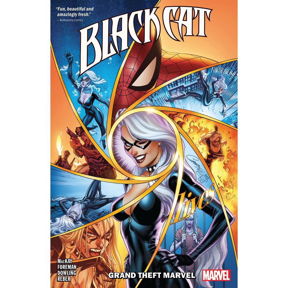 Black Cat TP Vol 01 Grand Theft Marvel
