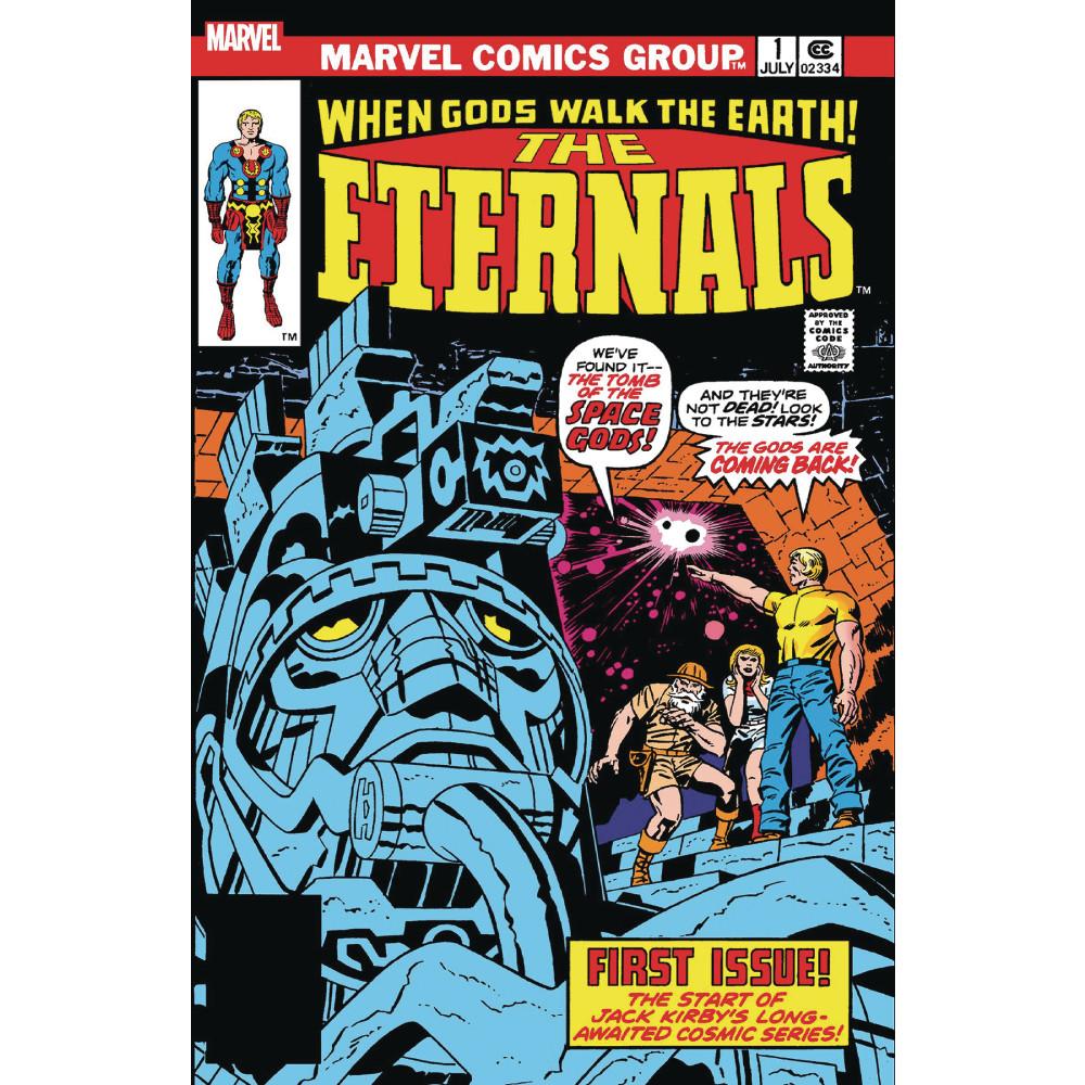 Eternals 01 Facsimile Edition