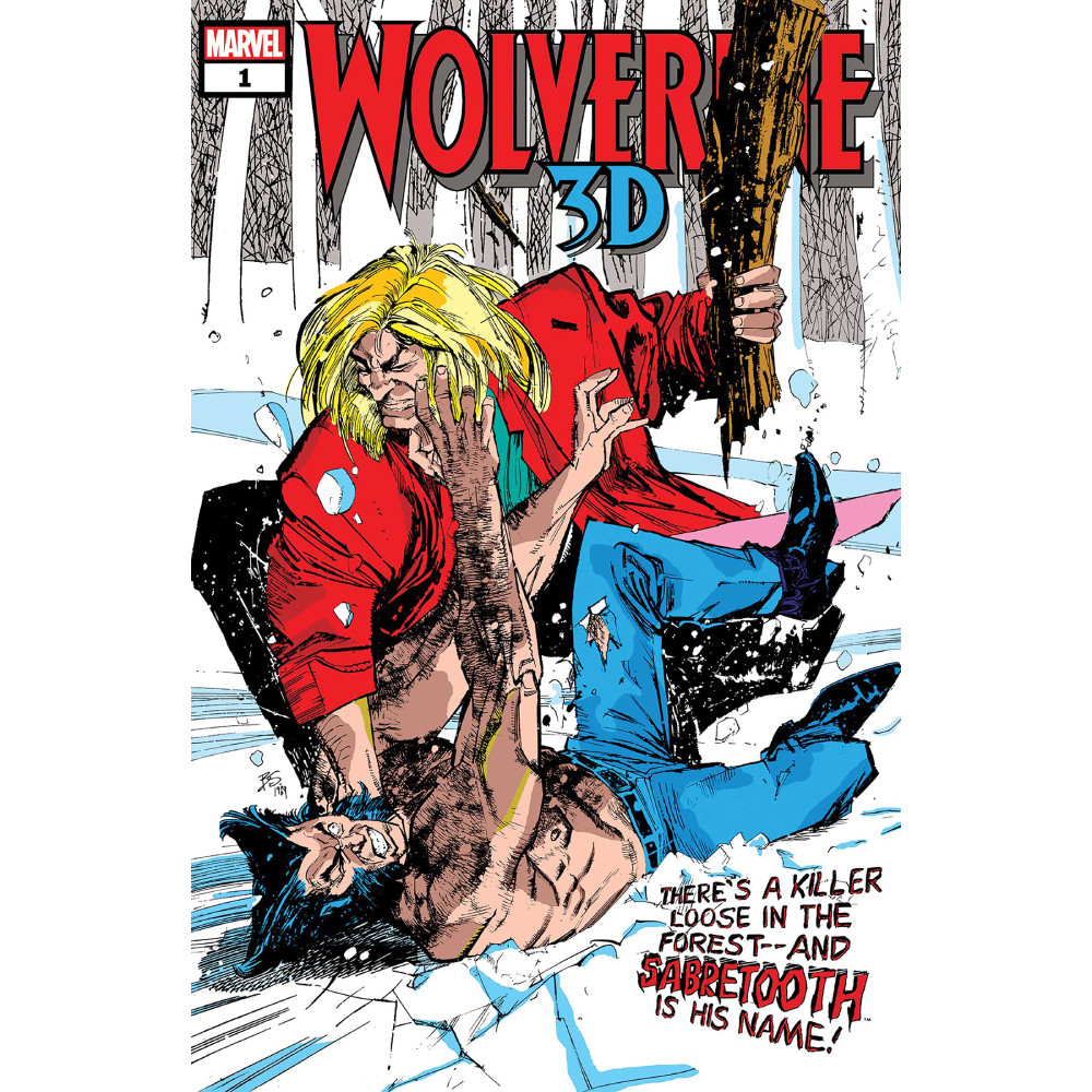 Wolverine vs Sabretooth 3D 01
